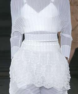 Stella McCartney White Skirt